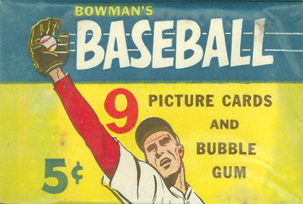 1950-1959 Unopened Packs (1950's)   #55B5CWP Baseball Card