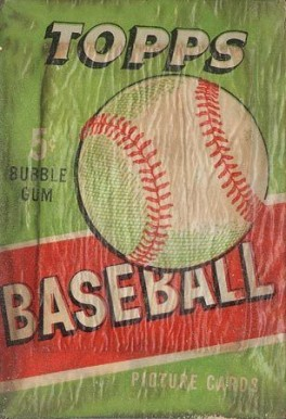 1950-1959 Unopened Packs (1950's)   #55TWP5C Baseball Card