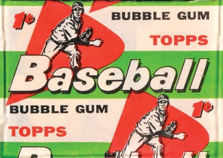 1950-1959 Unopened Packs (1950's) 1958 Topps 1 Cent Wax Pack #58t1wp Baseball Card