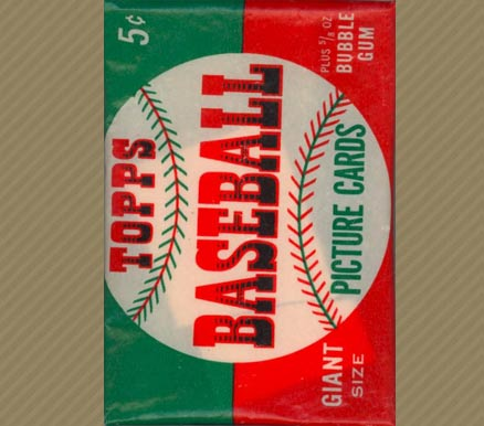1950-1959 Unopened Packs (1950's)   #52twp Baseball Card