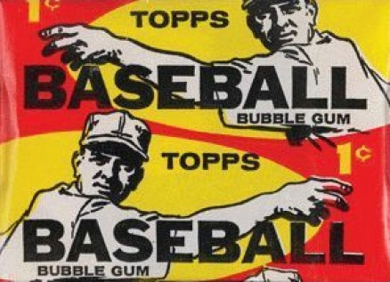 1950-1959 Unopened Packs (1950's)   #59t1cwp Baseball Card