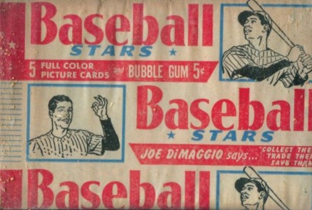 1950-1959 Unopened Packs (1950's)   #53bc5wp Baseball Card
