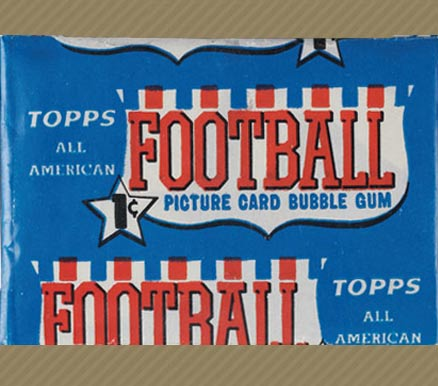 1950-1959 Unopened Packs (1950's)   #55Taa1cwp Football Card