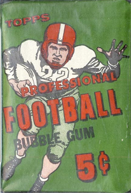1950-1959 Unopened Packs (1950's)   #56T5WP Football Card