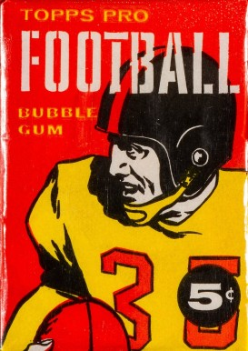 1950-1959 Unopened Packs (1950's)   #58t5wp Football Card