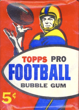 1950-1959 Unopened Packs (1950's)   #57T5cwp Football Card