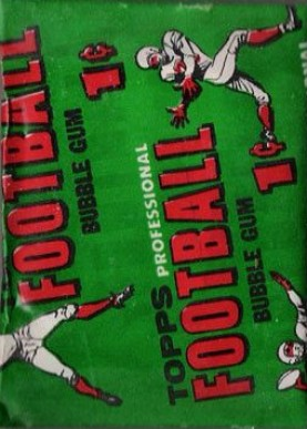 1950-1959 Unopened Packs (1950's)   #56T1cwp Football Card