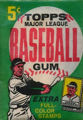 1960-1969 Unopened Packs (1960's)   #62T5CWP Baseball Card