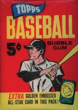 1960-1969 Unopened Packs (1960's)   #65T5WP Baseball Card