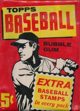 1960-1969 Unopened Packs (1960's)   #61T5WP Baseball Card
