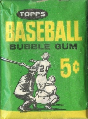 1960-1969 Unopened Packs (1960's)   #64T5WP Baseball Card