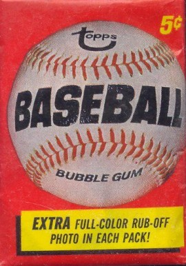 1960-1969 Unopened Packs (1960's)   #66TWP Baseball Card