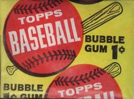 1960-1969 Unopened Packs (1960's) 1963 Topps 1 Cent Wax Pack #63T1cw- Baseball Card