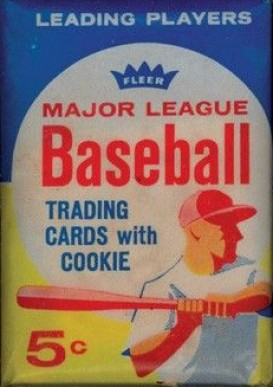 1960-1969 Unopened Packs (1960's)   #63F5cwp Baseball Card