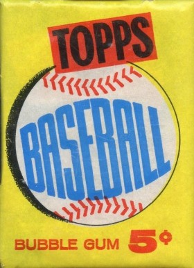 1960-1969 Unopened Packs (1960's)   #60T5cwp Baseball Card