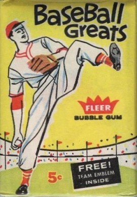 1960-1969 Unopened Packs (1960's)   #60F5cwp Baseball Card