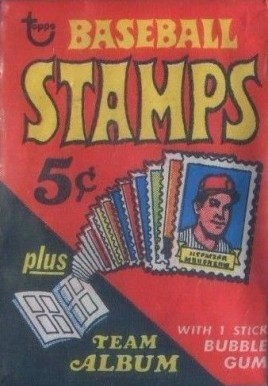 1960-1969 Unopened Packs (1960's) 1969 Topps Stamps Pack #69Ts Baseball Card