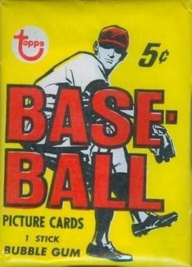 1960 1969 Unopened Packs 1960s 1968 Topps Wax Pack 68twp