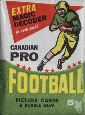 1960-1969 Unopened Packs (1960's)   #64OPCwp Football Card
