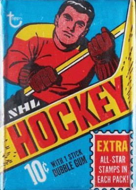 1960-1969 Unopened Pack (1960's)   #69Twp Hockey Card