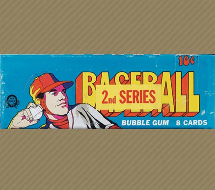 1970-1979 Unopened Packs (1970's)   #72OPCwpb Baseball Card