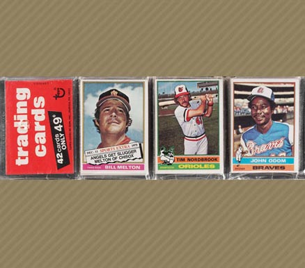 1970-1979 Unopened Packs (1970's)   #76Trp Baseball Card