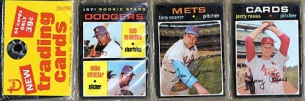 1970-1979 Unopened Packs (1970's)   #71Trp Baseball Card