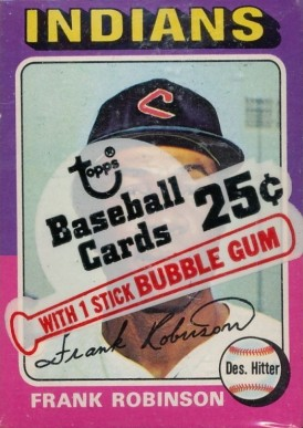 1970-1979 Unopened Packs (1970's)   #75TMcp Baseball Card