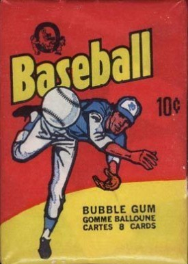 1970-1979 Unopened Packs (1970's)   #75OPCwp Baseball Card