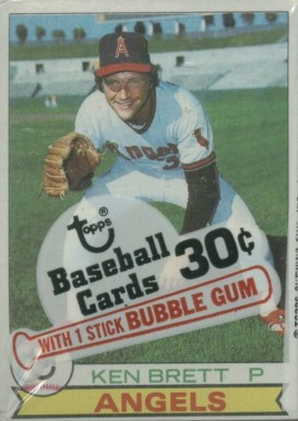1970-1979 Unopened Packs (1970's)   #79Tcp Baseball Card