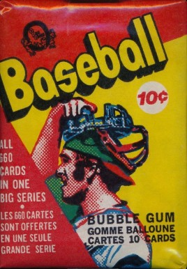 1970-1979 Unopened Packs (1970's)   #73OPCwp Baseball Card