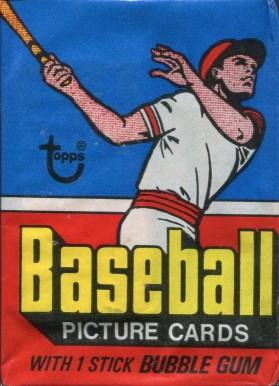 1970-1979 Unopened Packs (1970's) 1977 Topps Wax Pack #77Twp Baseball Card