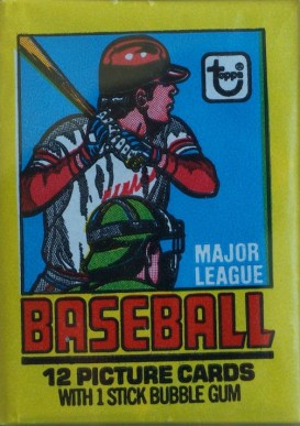 1970-1979 Unopened Packs (1970's)   #79twp Baseball Card