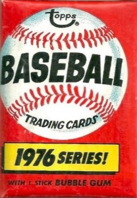 1970-1979 Unopened Packs (1970's)   #76Twp Baseball Card