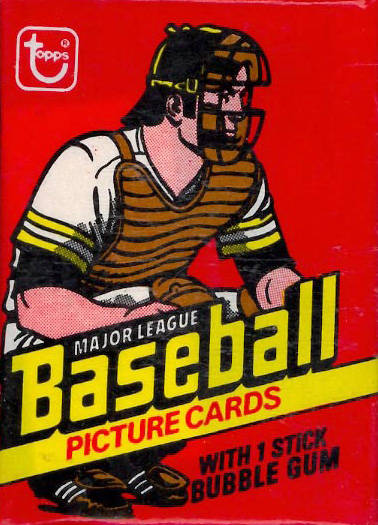 1970-1979 Unopened Packs (1970's)   #78Twp Baseball Card