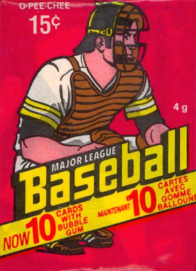 1970-1979 Unopened Packs (1970's) 1978 O-Pee-Chee Wax Pack #78OPCwp Baseball Card