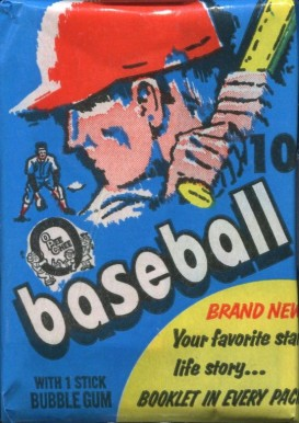 1970-1979 Unopened Packs (1970's)   #71OPCWP Baseball Card