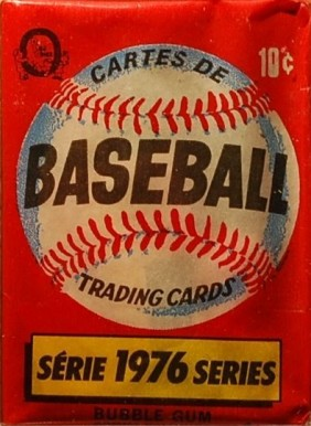 1970-1979 Unopened Packs (1970's)   #76OPCWP Baseball Card