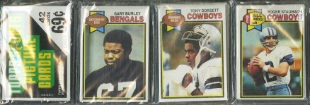 1970-1979 Unopened Packs (1970's)   #79Trp Football Card