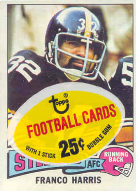 1970-1979 Unopened Packs (1970's)   #75Tcp Football Card