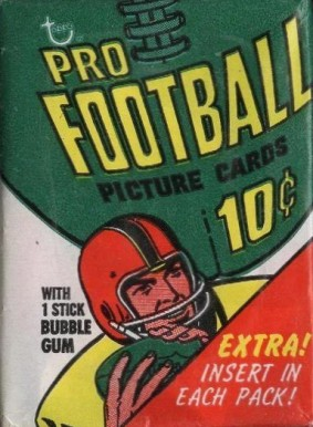 1970-1979 Unopened Packs (1970's)   #70Twp Football Card