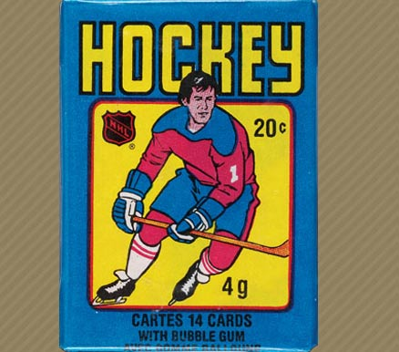 1970-1979 Unopened Pack (1970's)   #79OPCWP Hockey Card