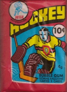 1970-1979 Unopened Pack (1970's)   #76opcwha-wp Hockey Card
