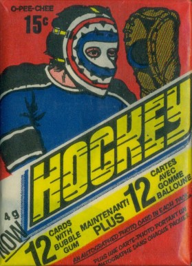 1970-1979 Unopened Pack (1970's)   #77OPCwp Hockey Card