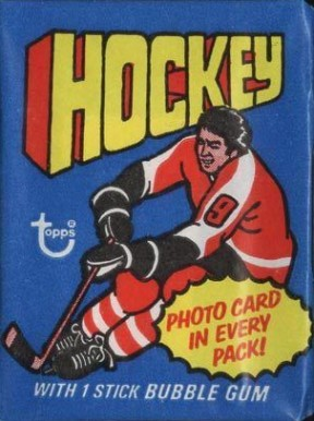 1970-1979 Unopened Pack (1970's)   #76Twp Hockey Card