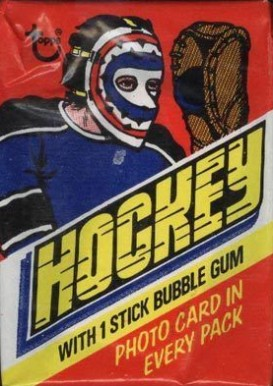 1970-1979 Unopened Pack (1970's)   #77Twp Hockey Card