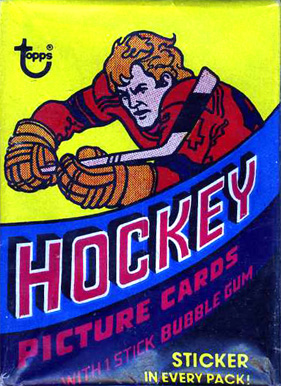 1970-1979 Unopened Pack (1970's)   #78Twp Hockey Card