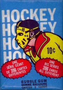 1970-1979 Unopened Pack (1970's)   #74OPCwp Hockey Card