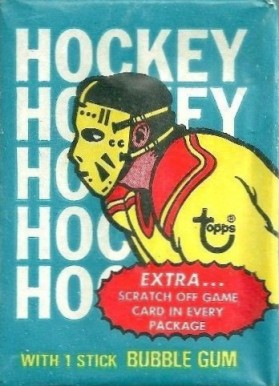 1970-1979 Unopened Pack (1970's)   #74Twp Hockey Card