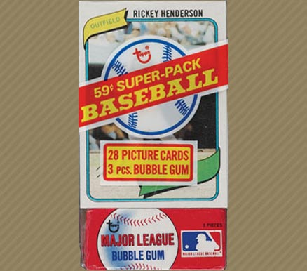 1980-1989 Unopened Packs (1980's)   #80TCP Baseball Card